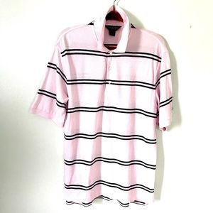 Brooks Brothers* Country Club Golf/Polo Shirt Pink